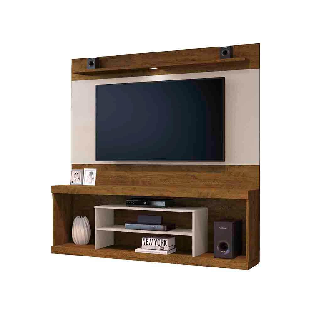Conjunto Rack com Painel Portinari Plus para TV até 65 Polegadas Mavaular Móveis