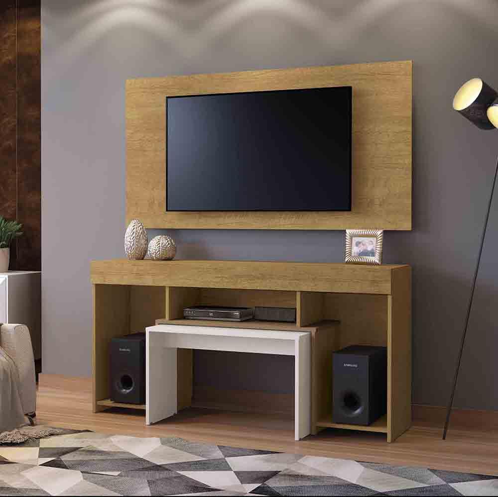 Conjunto Rack com Painel Sparta para TV até 40 Polegadas Mavaular Móveis