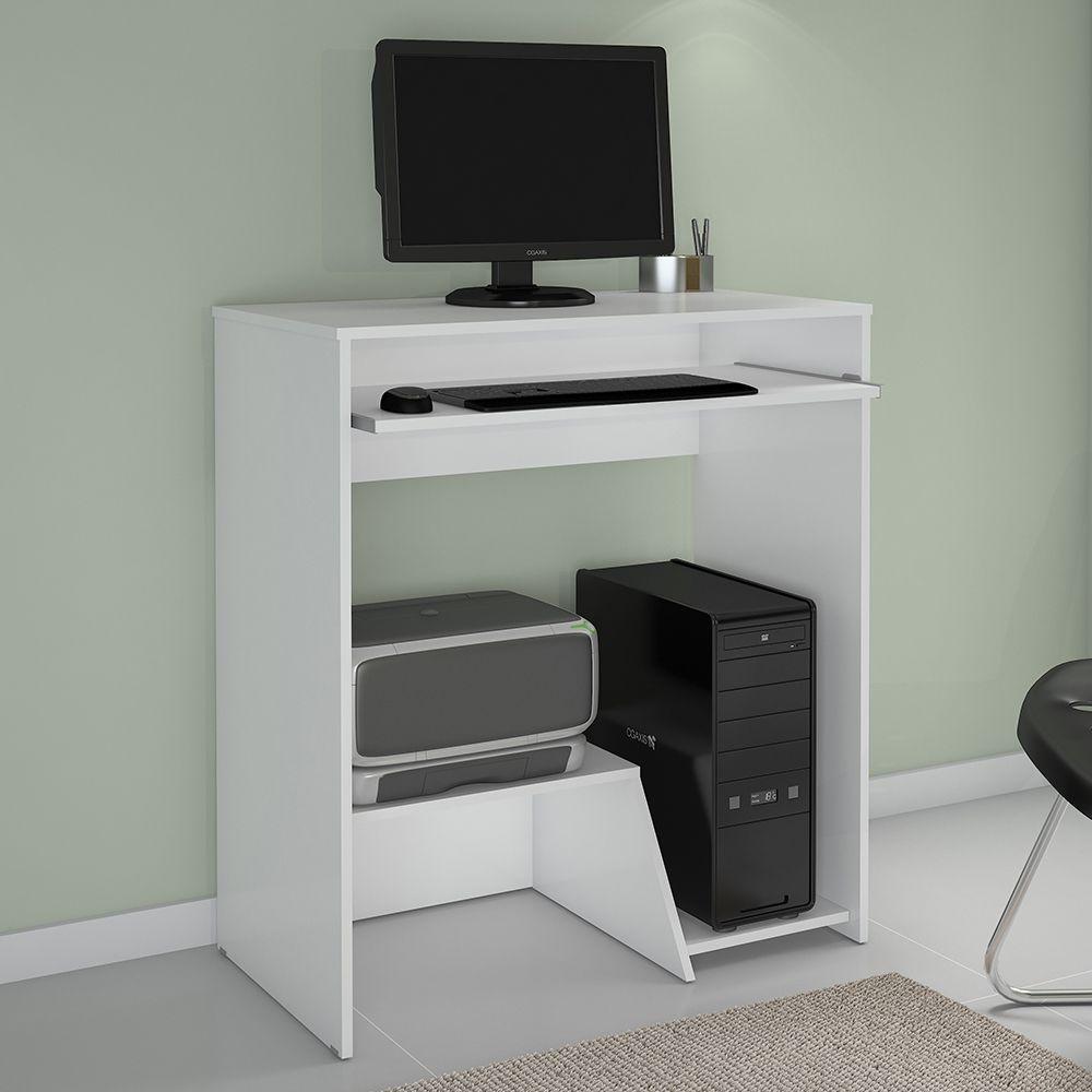 Escrivaninha Iris cor Branca JCM Móveis - Casa dos Móveis Ubá