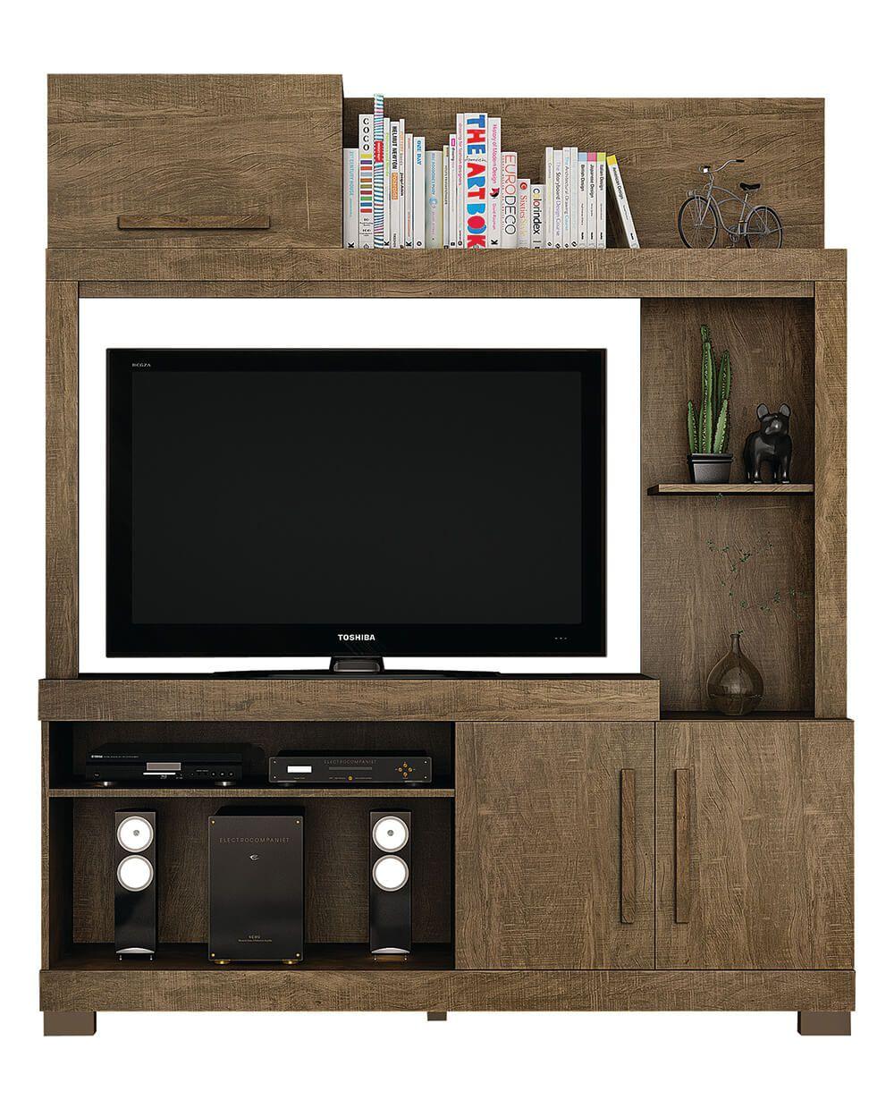 Estante Trevo Valdemóveis para TV até 47 polegadas