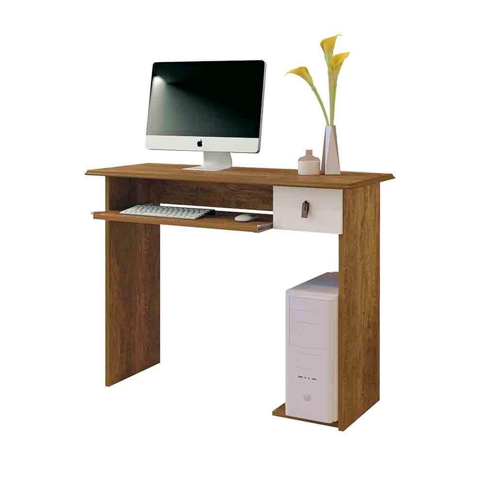 Mesa para Computador Dalian Plus com 1 Gaveta Mavaular Móveis