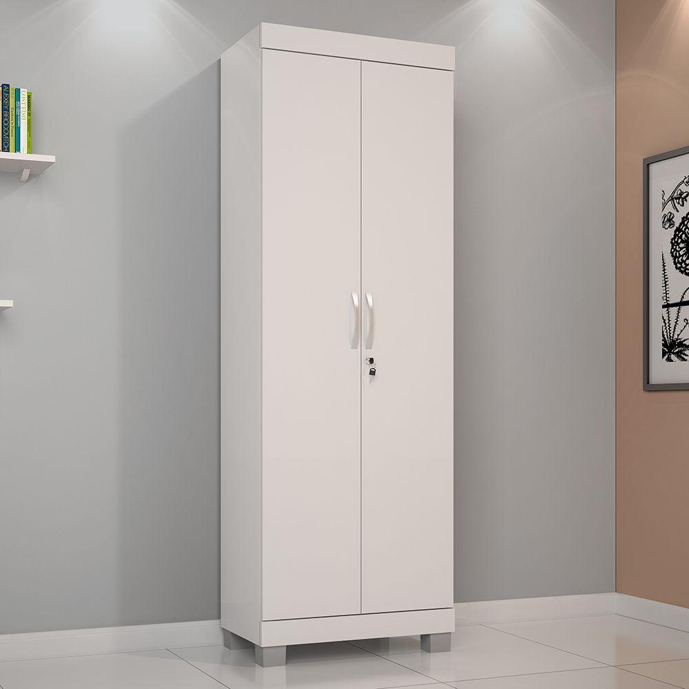 Multi Uso Mucuri 2 portas cor Branco JCM Móveis - Casa dos Móveis Ubá