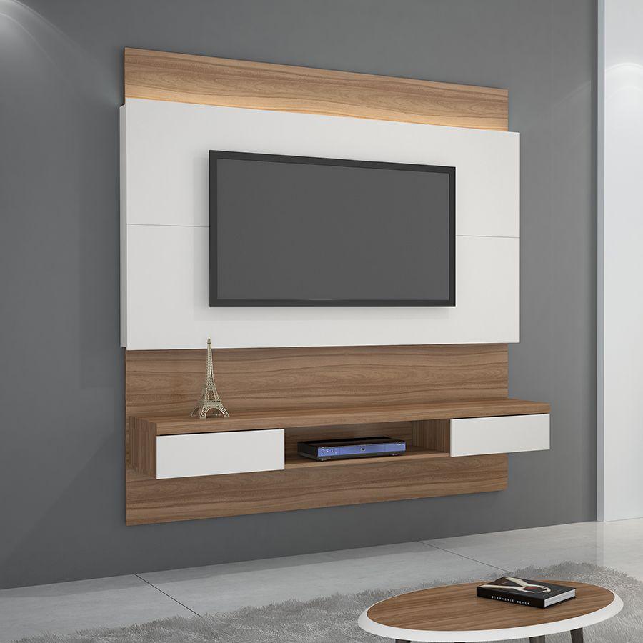 Painel para TV até 60 Polegadas com LED Gálio JCM Móveis