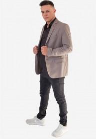 Blazer Masculino Slim Lobo Jordhan