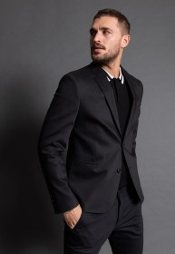 Terno Masculino Jordhan Slim Fit Black Edition