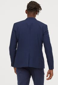 Terno Jordhan Slim Azul Marinho Luxury