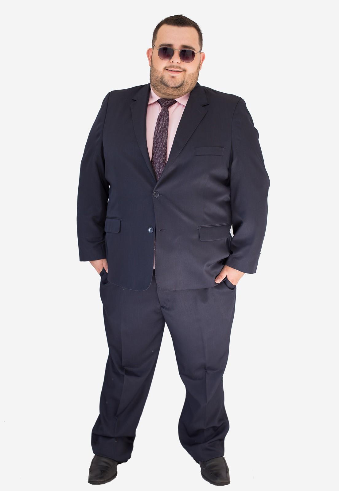 Terno Jordhan Plus Size Marinho Edição Especial