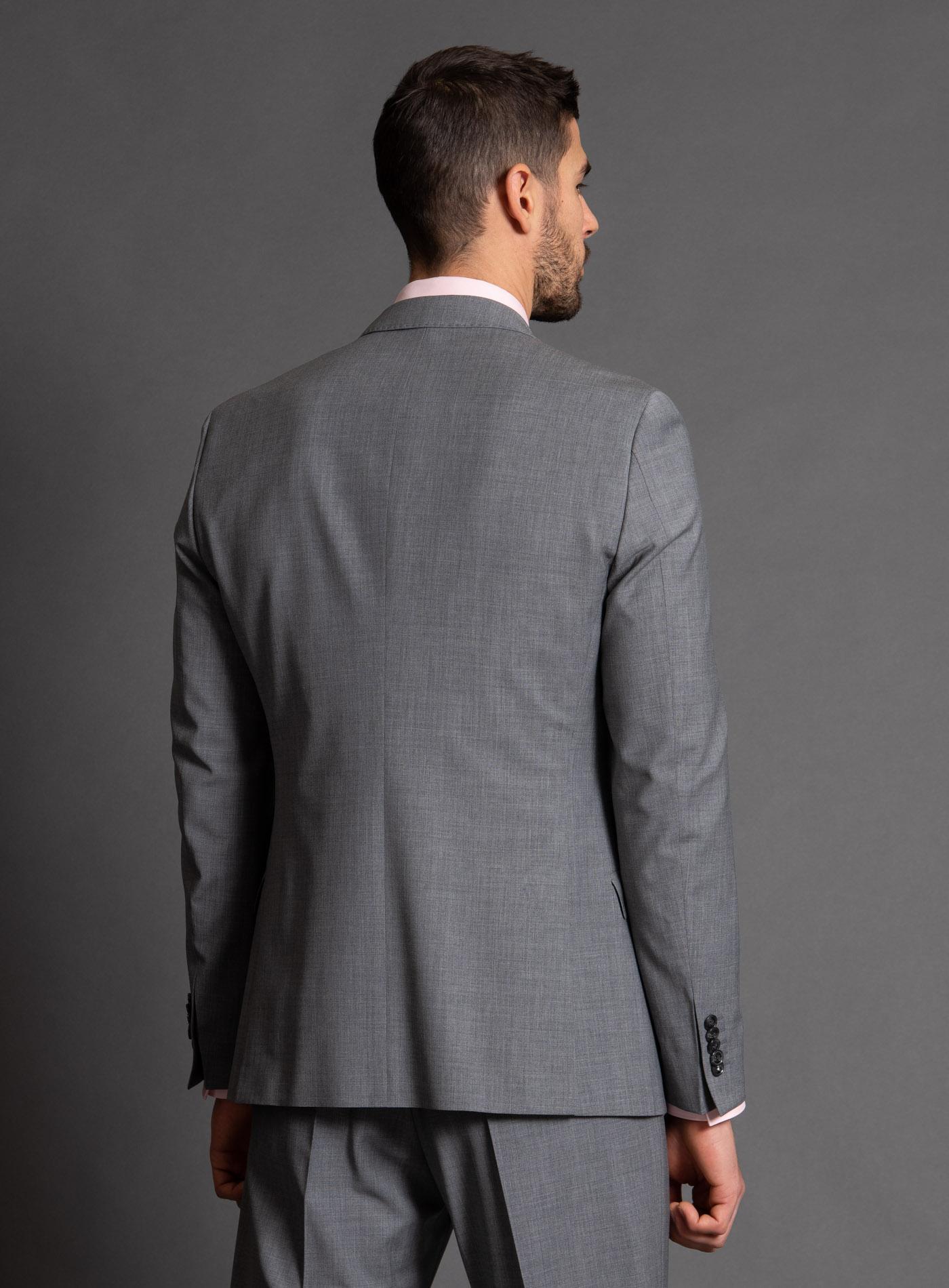 Terno Jordhan Slim Fit Cinza Escuro Impecável