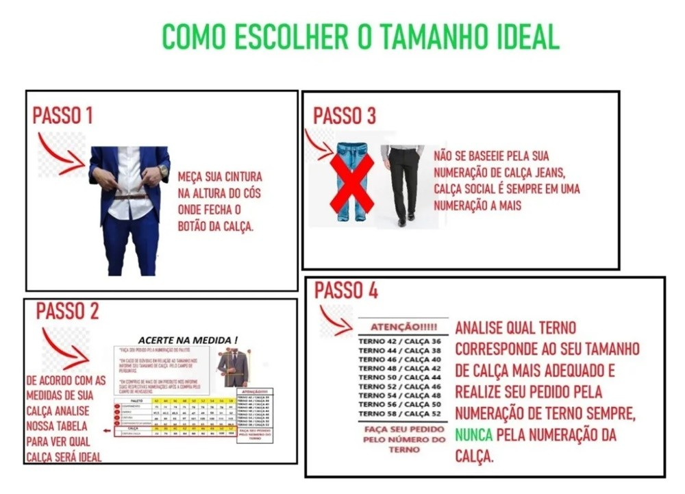 Terno Jordhan Slim Fit Marinho Outlet