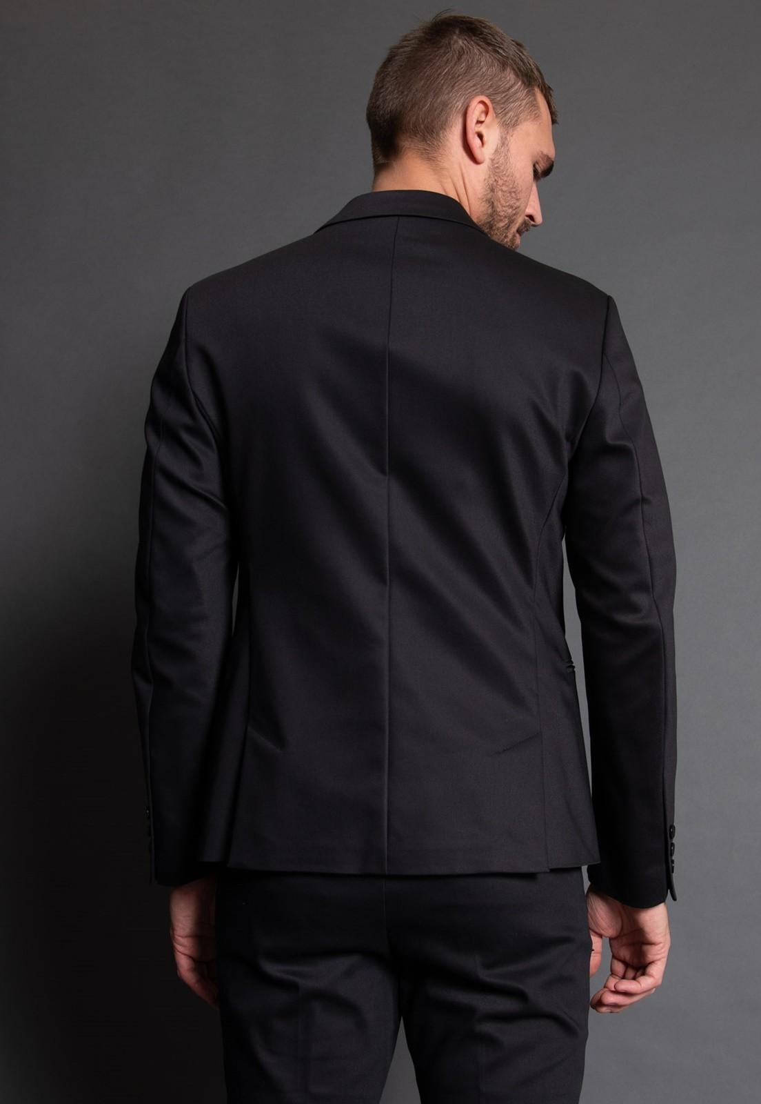 Terno Masculino Jordhan Slim Fit Black Edition