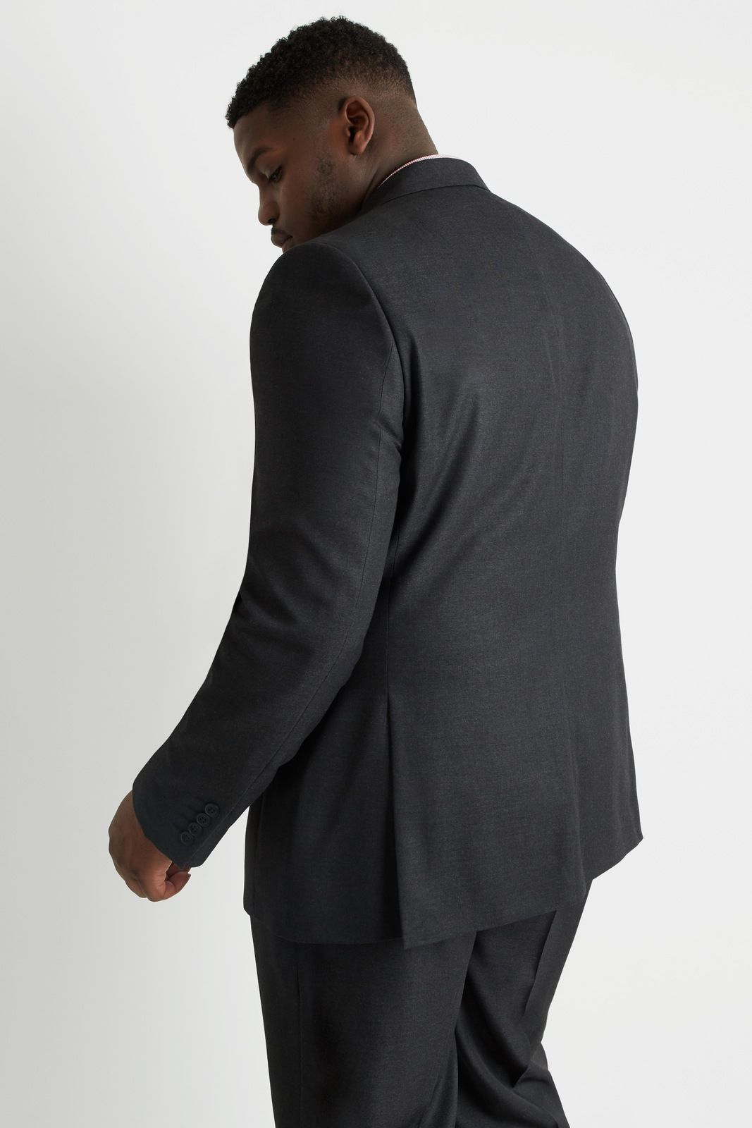 Terno Jordhan Masculino Plus Size Chumbo