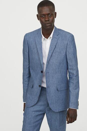 Terno Slim Fit Masculino Jordhan Azul Claro Indiano