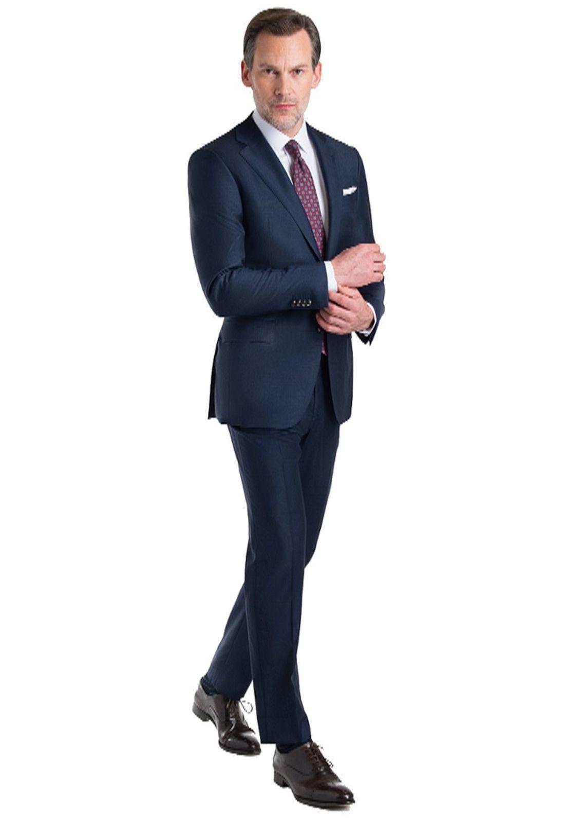 Terno Oxford Luxo Slim Fit Marinho Jordhan