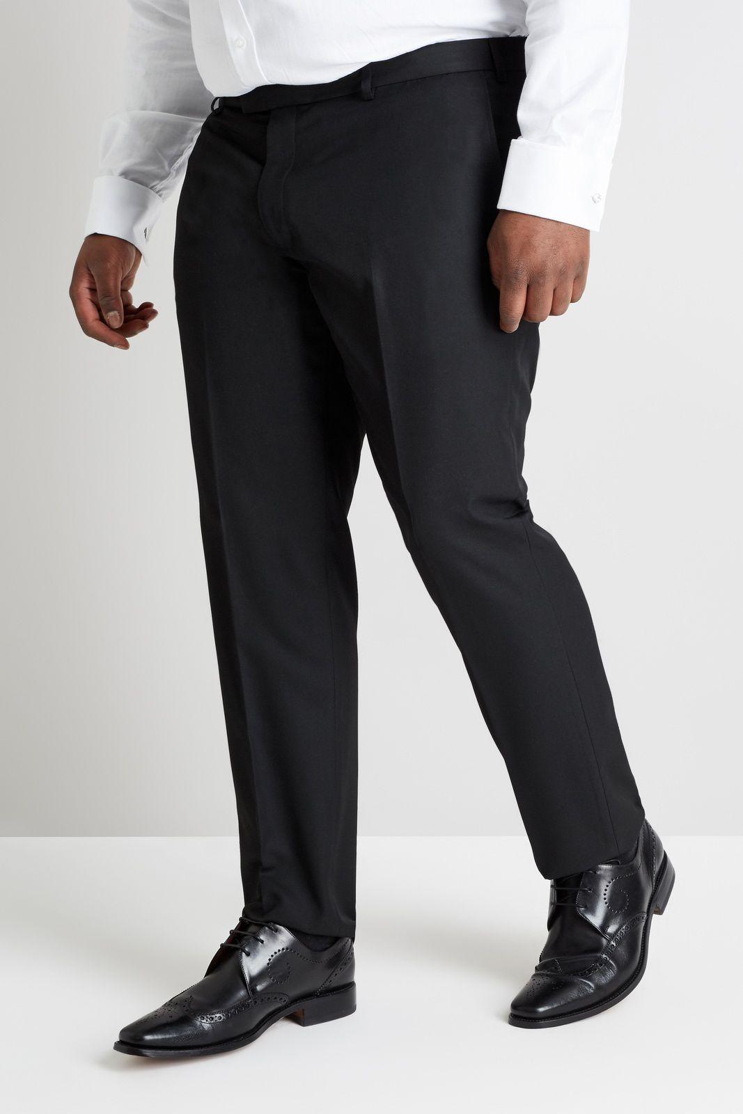 Terno Masculino Plus Size Preto Jordhan