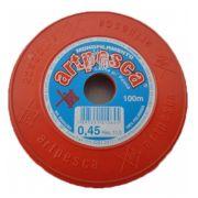 Atacado - Fio De Nylon 0,45 Artpesca® - Caixa C/ 20 Rolos
