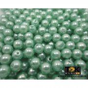 Atacado - Pérola 8mm - Verde Bandeira - 500g