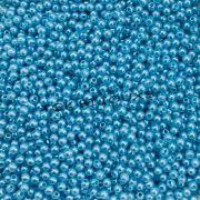 Atacado - Pérola Redonda ABS 3mm - Azul Bebe