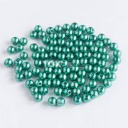Pérola Redonda Abs 4mm - Verde Bandeira - 250g
