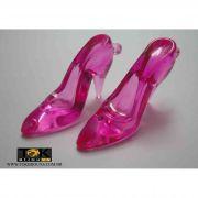 Atacado - Sapato Acrílico Grande - Pink - 500g