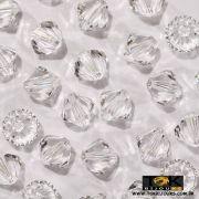 Balão Swarovski / Preciosa - 4mm Cristal Transparente - 20 UN