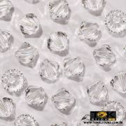 Balão Swarovki / Preciosa - 6mm Cristal Transparente - 20 UN