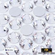 Chaton Strass Base Reta Preciosa® - Sem Cola - Cristal - SS12 (3mm) - 50Un