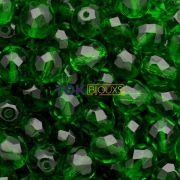 Cristal Jablonex Preciosa ® 8mm - Verde Bandeira Transp - UM