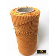 Cordão Encerado Algodão - 1,5mm - Laranja