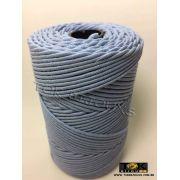 Cordão Encerado Algodão - 1mm - Azul Bebe