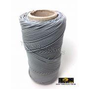 Cordão Encerado Algodão - 1mm - Cinza