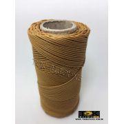 Cordão Encerado Algodão - 1mm - Mostarda - 100 Metros