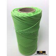 Cordão Encerado Algodão - 1mm - Verde Pistache