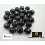 Cristal Jablonex/Preciosa® 10mm - 600  Unid - Preto Opaco