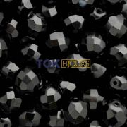 Cristal Jablonex / Preciosa ® 10mm - Preto - Unidade