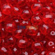 Cristal Jablonex / Preciosa ® 8mm - Vermelho Transparente Un