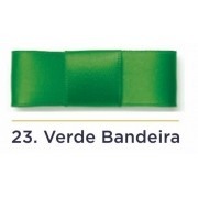 Fita Cetim N.1 - 7mm - 100 Metros - COR (23) Verde Bandeira
