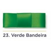 Fita Cetim N.2 - 10mm - 50 Metros - COR (23) Verde Bandeira