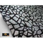Lonita Mosaico Glitter Prata
