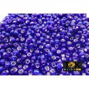 Missangão Azulão Transparente 6/0 - 50g