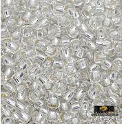 Missangão Jablonex - Prata Transparente - 500g