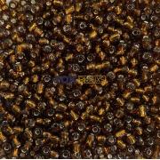 Missangão Marrom Transparente 6/0 - 50g