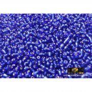 Missanguinha Azulão Transparente 10/0 - 50g