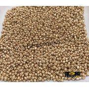 Missanguinha Dourado Metalizado 10/0 - 50g