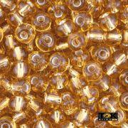 Missanguinha Jablonex - Dourado Transparente - 500g