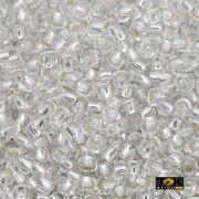 Missanguinha Jablonex - Prata Transparente - 500g