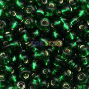 Missanguinha Jablonex - Verde Bandeira Transparente - 25g