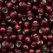 Missanguinha Jablonex - Vermelho Transparente - 500g