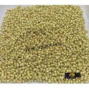 Missanguinha Ouro Claro Metalizado 10/0 - 500g