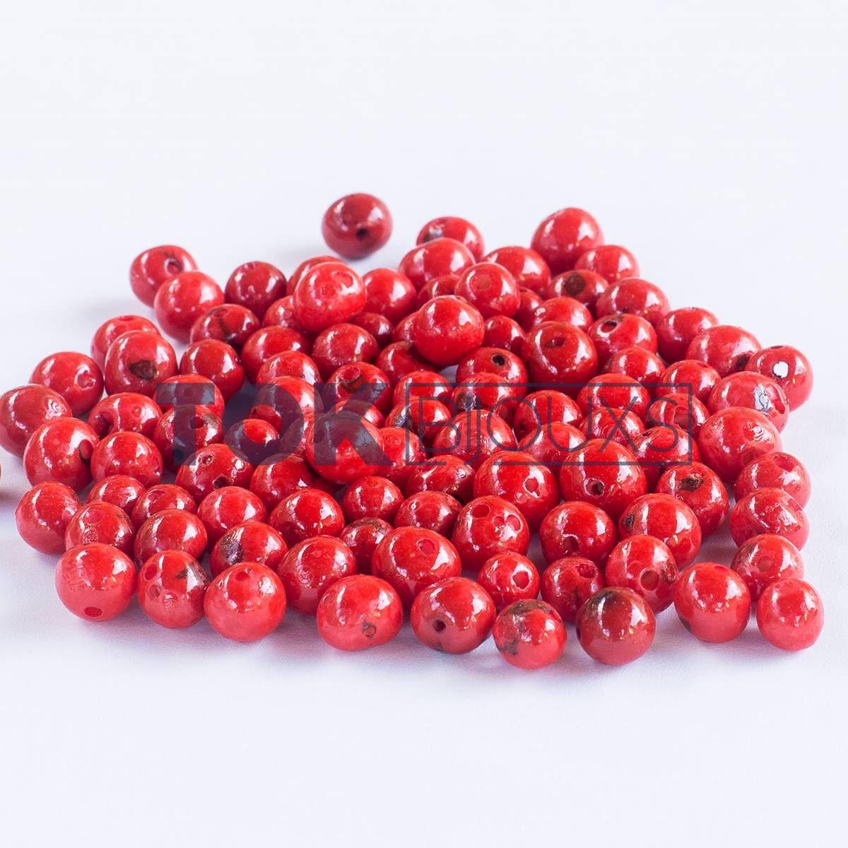 Açai Semente - Vermelho - 1000Un
