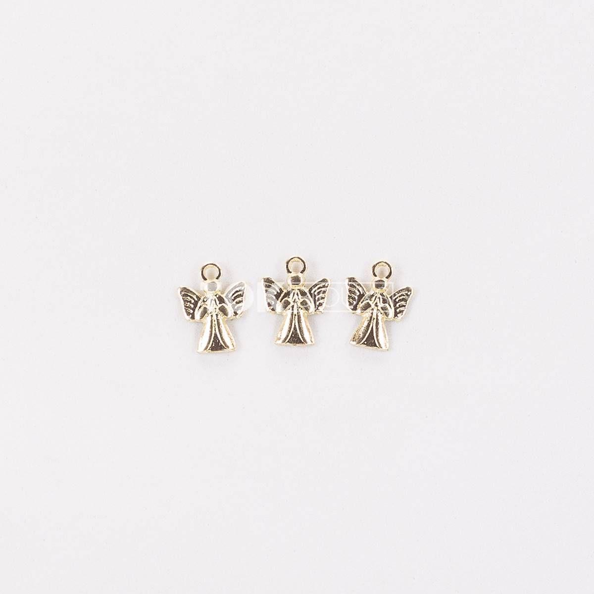 Anjo - Dourado - 10  Unid